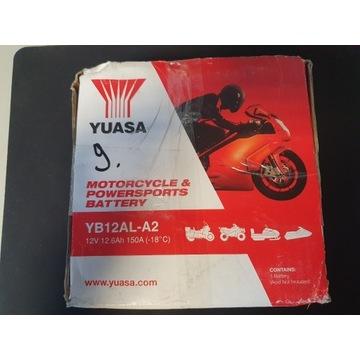 AKUMULATOR MOTOCYKLOWY YUASA YB12AL-A2 12V 12.6AH