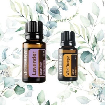 DoTerra olejek LAVENDER 15ml + Wild Orange 5ml