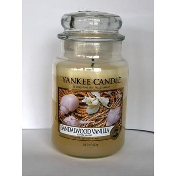 SANDALWOOD VANILLA Yankee Candle duża (2011)