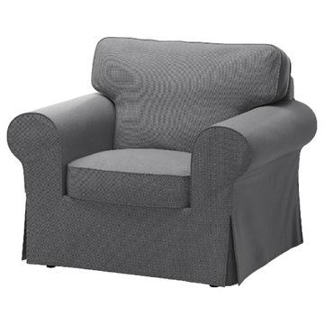 IKEA pokrycie fotela Ektorp Nordvalla ciemnoszary