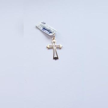 Złoty Krzyżyk pr.585.   0,75gr