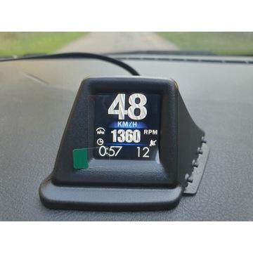 Wielofunkcyjny gadżet HUD OBD2+GPS