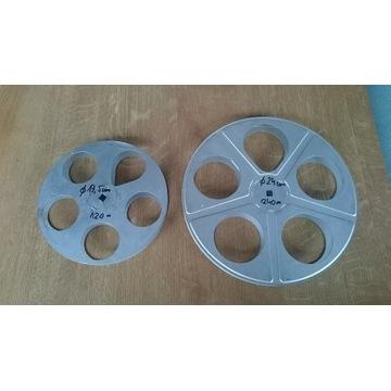 Szpula,cewa,filmowa 16 mm,pojemność 120 m lub 240m