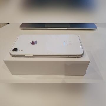 Apple iPhone Xr 64GB White biały etui zestaw
