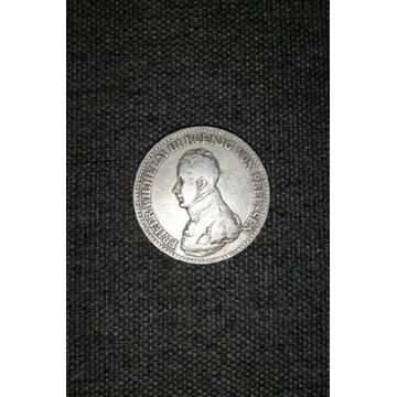 Talar 1818 Prusy Fryderyk Wilhelm III srebro