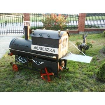 grill lokomotywa