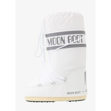 Moon Boot śniegowce białe 35/38 nowe oryginalne