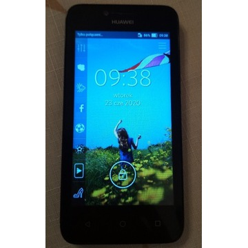 Telefon komórkowy Huawei Y5 czarny sprawny