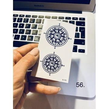 Tatuaż wodoodporny tymczasowy nr. 56