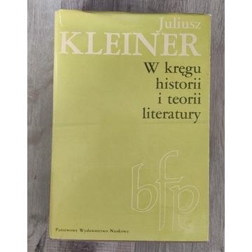 W kręgu historii i teorii literatury Kleiner 1981