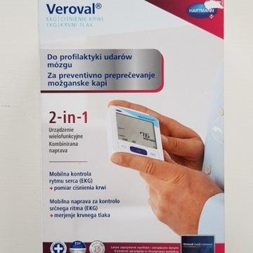 Hartmann Veroval 2in1-ciśnieniomierz z funkcją EKG