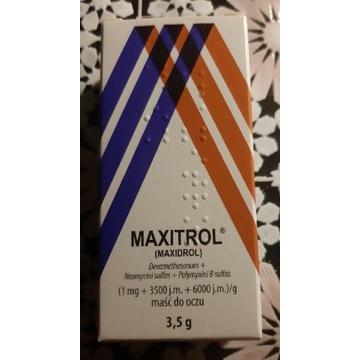MAXITROL Maść do oczu - 3,5 g