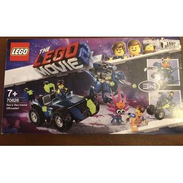 Klocki Lego Movie2  70826 Terenówka Rexa