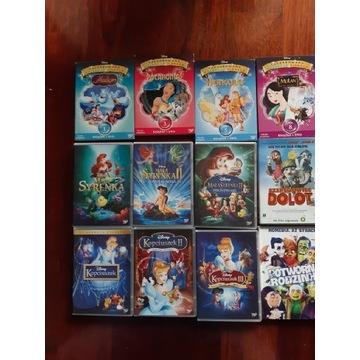 Oryginalne bajki Filmy DVD Disney i nie tylko