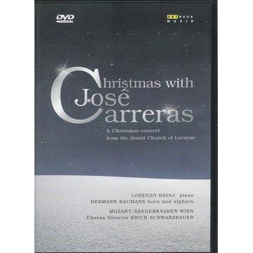 DVD CHRISTMAS WITH JOSE CARRERAS - ARTHAUS