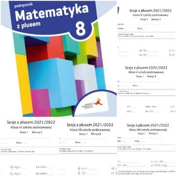 Sesje z plusem klasy 4 5 6 7 8 GWO matematyka