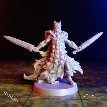 Wojownik z mieczami - Figurka Dungeons & Dragons