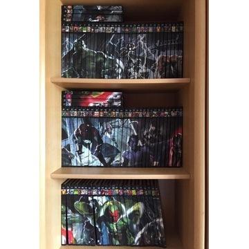 WKKM: Wielka Kolekcja Komiksów Marvela, 96 tomów.
