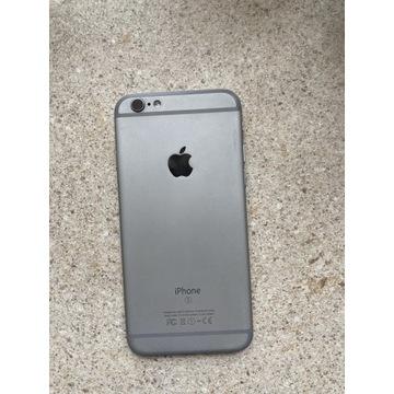 Korpus iPhone 6s szary taśmy port ładowania