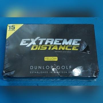 Piłki do golfa Dunlop Extreme Distance 15szt żółte