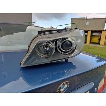 Lampa BMW E90 E91 przód lewa XENON NIESKRĘTNA