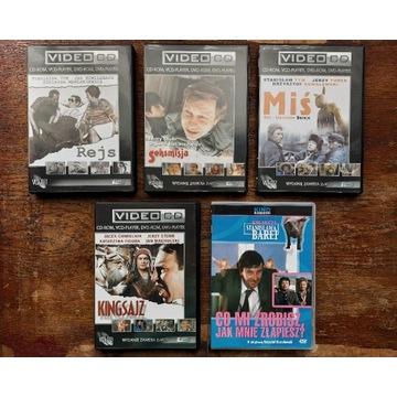 Rejs Miś Kingsajz Seksmisja ZESTAW 5 płyt VCD DVD