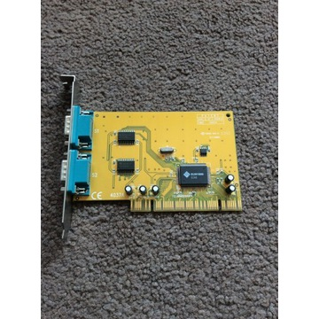 Kontroler RS232 2x złącze COM na PCI SUN 1889