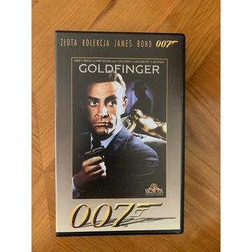 VHS James Bond Goldfinger