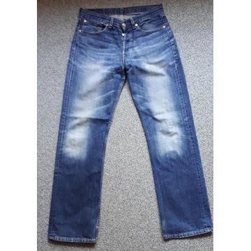 Spodnie jeansy LEVIS 508 W30 L34 vintage sprane