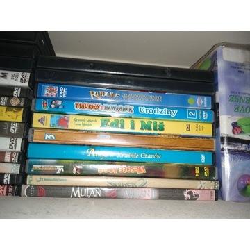 Bajki dvd, cd, kolekcja bajek