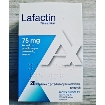 LAFACTIN - Venlafaxinum - lek - 75 mg