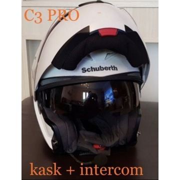 kask Schuberth C3 PRO + intercom SRC hjc shoei bmw