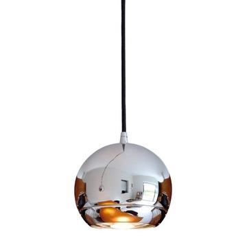 Lampa sufitowa zwis kula chrom