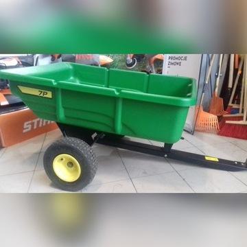 Przyczepka John Deere P7 200l do traktorka