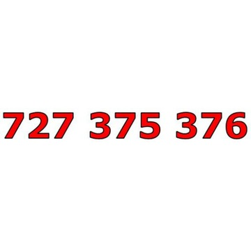 727 375 376 ŁATWY ZŁOTY NUMER STARTER