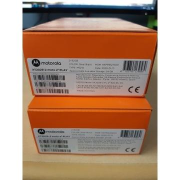 Smartfon Motorola E6 PLAY, model XT2029-2