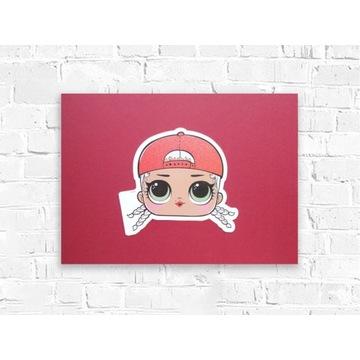 L.O.L plakat na ścianę do pokoju dziewczynki 30x40