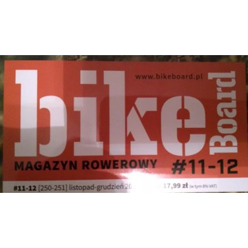 *BikeBoard (155szt.), rower, archiwalne, TANIO*
