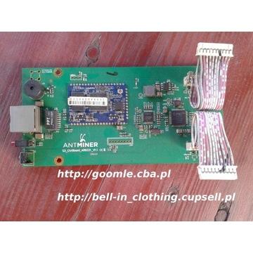 Antminer S3+ płyta sterowania