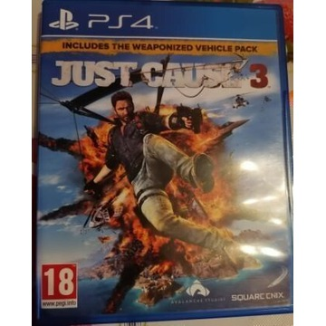 Gra Just Caus 3 Gra na konsole PS4 stan b dobry