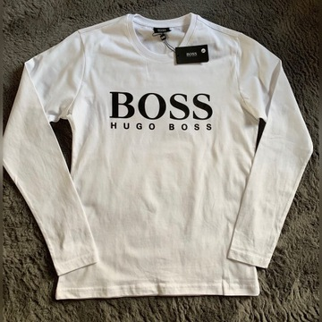 Hugo Boss t- shirt z długim rękawem rozm . L