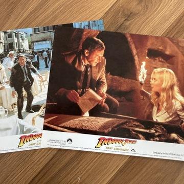 Indiana  Jones -Ostatnia Krucjata -2x karty promoc