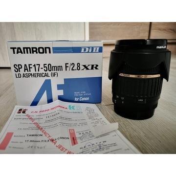 tamron sp af 17-50 f/2.8 xr di ii ld CANON + filtr