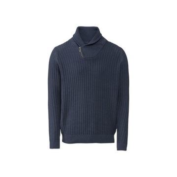 Sweter męski ze stójką Rozm. L