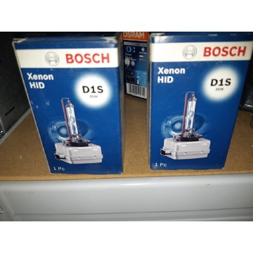 Bosch zarówki xenonowe D1S, 2 szt nowe