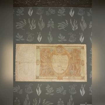 Banknot 50zł.1929r.