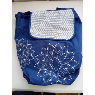 Nowa torba do wózka Gimi Tris kolor niebieski
