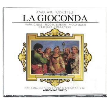 La Gioconda Amilcare Ponchielli 3xCD komplet ideał