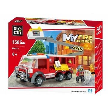 Blocki Klocki MYFIREBRIGADE 158 el - Podnośnik