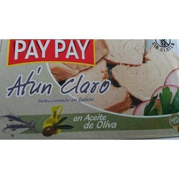 Tuńczyk biały w oliwie z oliwek PayPay hiszpańskie